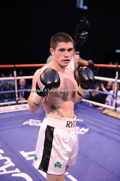 John Ryder (pictured) defeats Lee Noble at London's Olympia on Saturday 30th April 2011. Matchroom Sport. Photo credit © Leigh Dawney.