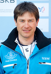 Coach Ales Gros at Official photo of  Slovenia Nordic Combined team for  European Youth Olympic Festival (EYOF) in Liberec (CZE) at official presentation, on February  9, 2011 at Bled Castle, Slovenia. (Photo By Vid Ponikvar / Sportida.com)
