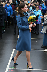 Duchess of Cambridge visits Roe Green Junior School - 23 Jan 2018