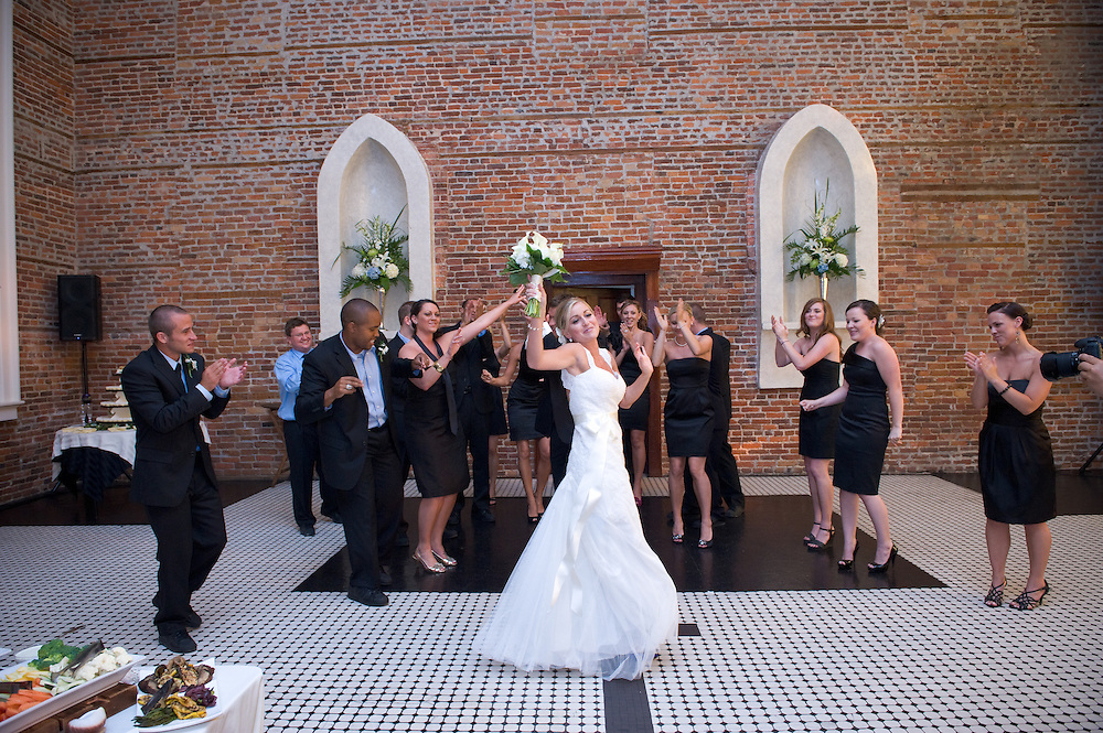 Wilmington NC Dancing Bride
