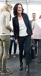 21.04.2017, Urania, Wien, AUT, Grüne, Sitzung des erweiterten Bundesvorstandes. im Bild Grüne Klubobfrau Eva Glawischnig // Leader of the parliamentary group the greens Eva Glawischnig<br />  during board meeting of the greens in Vienna, Austria on 2017/04/21. EXPA Pictures © 2017, PhotoCredit: EXPA/ Michael Gruber