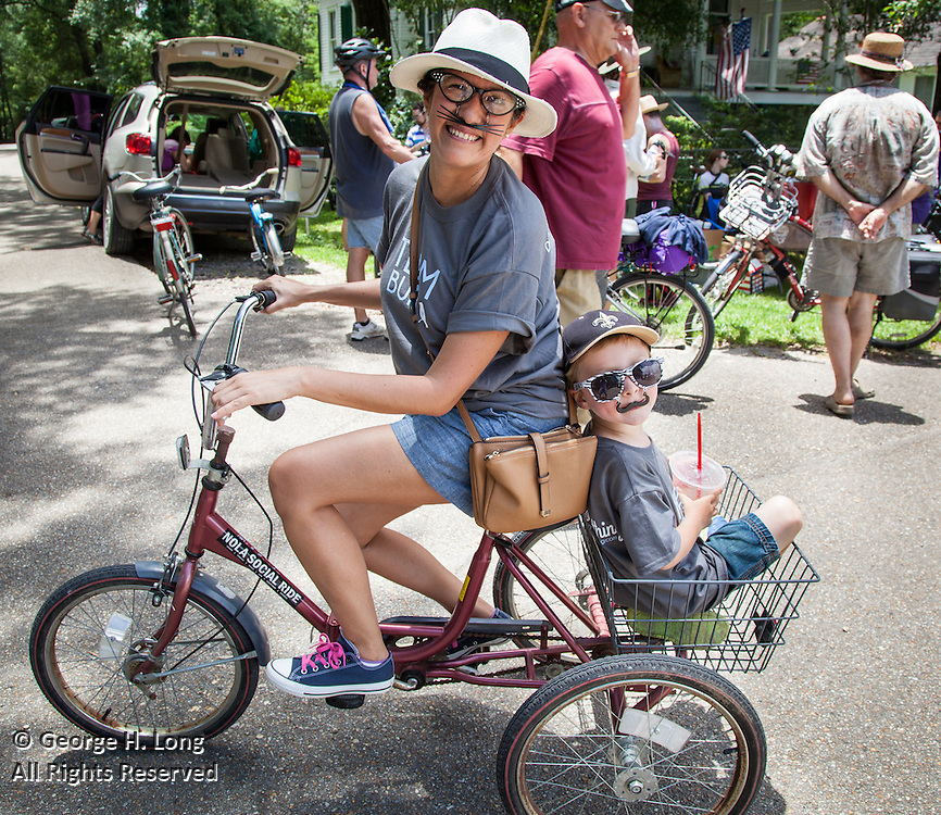 14th annual Louisiana Bicycle Festival in Abita Springs, Louisiana