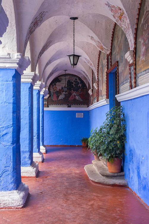 South America; Peru; Arequipa; Monasterio Santa Catalina;