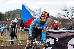 Mark Mcconnell (CAN), Men Elite, Cyclo-cross World Championship Tabor, Czech Republic, 1 February 2015, Photo by Pim Nijland / PelotonPhotos.com