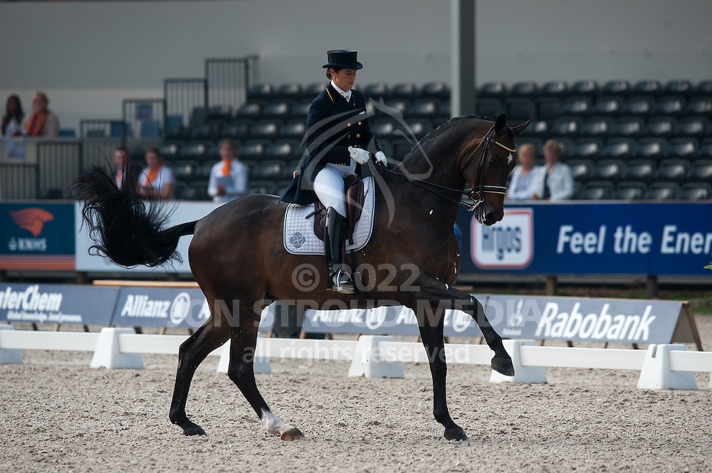 Tinne Vilhelmson-Silfven (BEL) & Don Auriello - International CDIO5* Grand Prix - CHIO Rotterdam 2012 - Rotterdam, Netherlands - 20 June 2012