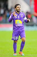Johan CAVALLI  - 20.12.2014 - Brest / Ajaccio - 18eme journee de Ligue 2 <br /> Photo : Vincent Michel / Icon Sport