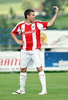 Fotball<br /> 17.07.2009<br /> St Pauli v Stoke<br /> Irdning Østerrike<br /> Foto: Gepa/Digitalsport<br /> NORWAY ONLY<br /> <br /> Bild zeigt James Beattie (Stoke City)