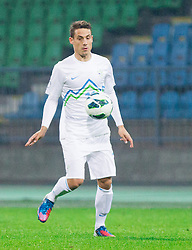 Goran Cvijanovic of Slovenia during football match between National teams of Slovenia and Cyprus in 3rd Round of Group E of FIFA World Cup 2014 Qualification on October 12, 2012 in Stadium Ljudski vrt, Maribor, Slovenia. Slovenia defeated Cyprus 2-1. (Photo By Vid Ponikvar / Sportida)