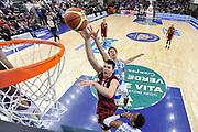 DESCRIZIONE : Campionato 2014/15 Dinamo Banco di Sardegna Sassari - Umana Reyer Venezia<br /> GIOCATORE : Ivica Radic<br /> CATEGORIA : Tiro Penetrazione Special<br /> SQUADRA : Umana Reyer Venezia<br /> EVENTO : LegaBasket Serie A Beko 2014/2015<br /> GARA : Dinamo Banco di Sardegna Sassari - Umana Reyer Venezia<br /> DATA : 03/05/2015<br /> SPORT : Pallacanestro <br /> AUTORE : Agenzia Ciamillo-Castoria/L.Canu