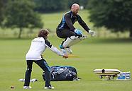 Matt Prior training with Bruce French 29/05/2014