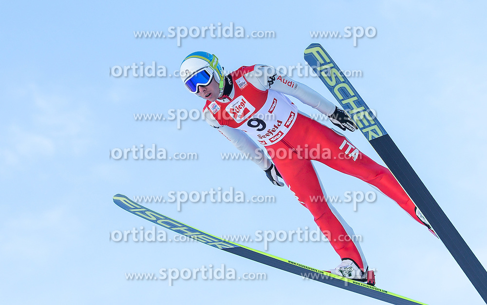 19.01.2013, Casino Arena, Seefeld, AUT, FIS Nordische Kombination, Skisprung, Probedurchgang, im Bild Armin Bauer (ITA) // Armin Bauer of Italy  during the Trial Round of Ski Jumping at FIS Nordic Combined World Cup in Sefeld, Austria on 2013/01/19. EXPA Pictures © 2013, PhotoCredit: EXPA/ Peter Rinderer