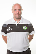 Forest Green Rovers goalkeeper coach Steve Hale during the Forest Green Rovers Photocall at the New Lawn, Forest Green, United Kingdom on 31 July 2017. Photo by Shane Healey.