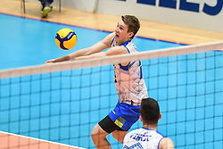 Rok Mozic of Slovenia during friendly volleyball match between National Men teams of Slovenia and Netherlands, on Januar 2nd, 2020, in Dvorana Tabor, Maribor, Slovenia. Photo by Milos Vujinovic / Sportida