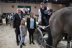 Exell Boyd, AUS, Bajnok, Clinton Star, Costa 49, Demi<br /> FEI World Cup Driving<br /> CHI de Genève 2016<br /> © Hippo Foto - Dirk Caremans<br /> 11/12/2016