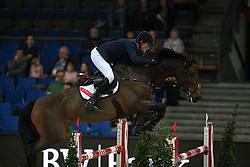 Hanley Cameron, (IRL), Cas 2<br /> Prize of Raumpflege Jumping<br /> Stuttgart - German Masters 2015<br /> © Hippo Foto - Stefan Lafrentz