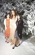 "Jade Jagger with her daughters: Amber and Assisi . Royal Film Performance and World Premiere of ""The Chronicles Of Narnia"" at the Royal Albert Hall. London and after-party in Kensington Gardens. 7 December  2005.ONE TIME USE ONLY - DO NOT ARCHIVE  © Copyright Photograph by Dafydd Jones 66 Stockwell Park Rd. London SW9 0DA Tel 020 7733 0108 www.dafjones.com"