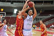 Danzica - Polonia 04 Agosto 2012 - TORNEO INTERNAZIONALE SOPOT CUP - Italia Montenegro<br /> Nella Foto :  PIETRO ARADORI<br /> Foto Ciamillo