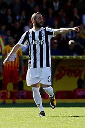 April 7, 2018 - Benevento, Italy - Gonzalo Higuain (FC Juventus)....during the Italian Serie A football Benevento Calcio v FC Juventus at Ciro Vigorito..Stadium in Benevento on April 07, 2018  (Credit Image: © Paolo Manzo/NurPhoto via ZUMA Press)