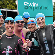 Thousands participle Swim Serpentine 2018, London, UK. 22 September 2018.