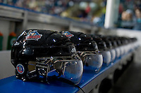 KELOWNA, CANADA, OCTOBER 1: The bench of the Kelowna Rockets home opener against the Vancouver Giants on October 1, 2011 at Prospera Place in Kelowna, British Columbia, Canada (Photo by Marissa Baecker/Getty Images) *** Local Caption ***