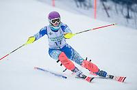 Nyquist Memorial Slalom race at Gunstock Ski Club.   ©2016 Karen Bobotas Photographer