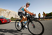 David De La Cruz (ESP - Team Sky) during the UCI World Tour, Tour of Spain (Vuelta) 2018, Stage 4, Velez Malaga - Alfacar Sierra de la Alfaguara 161,4 km in Spain, on August 28th, 2018 - Photo Luca Bettini / BettiniPhoto / ProSportsImages / DPPI