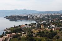 View over Agios Nikolaos, Crete