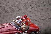 July 2, 2006: Indianapolis Motorspeedway. Felipe Massa, Michael Schumacher, Scuderia Ferrari