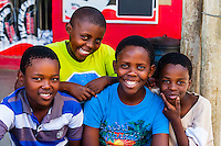 Boys, Orlando Towers, Soweto, Johannesburg, South Africa.
