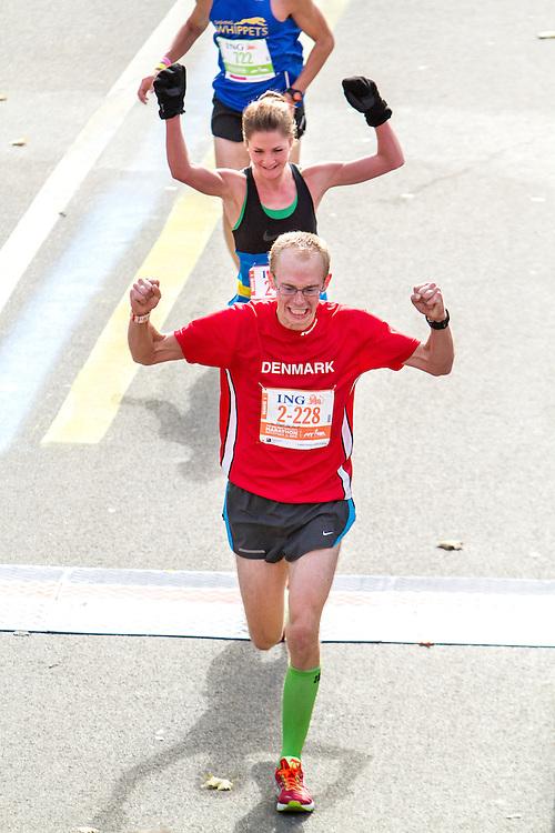 ING New York CIty Marathon: Caspar Jensby, Denmark