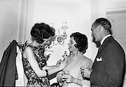 30/6/1964<br /> 6/30/1964<br /> 30 June 1964<br /> <br /> Miss. Helen Boardman, Mrs. B.H. Skinner and Mr B.H Greenwood District Manager for Pepsi