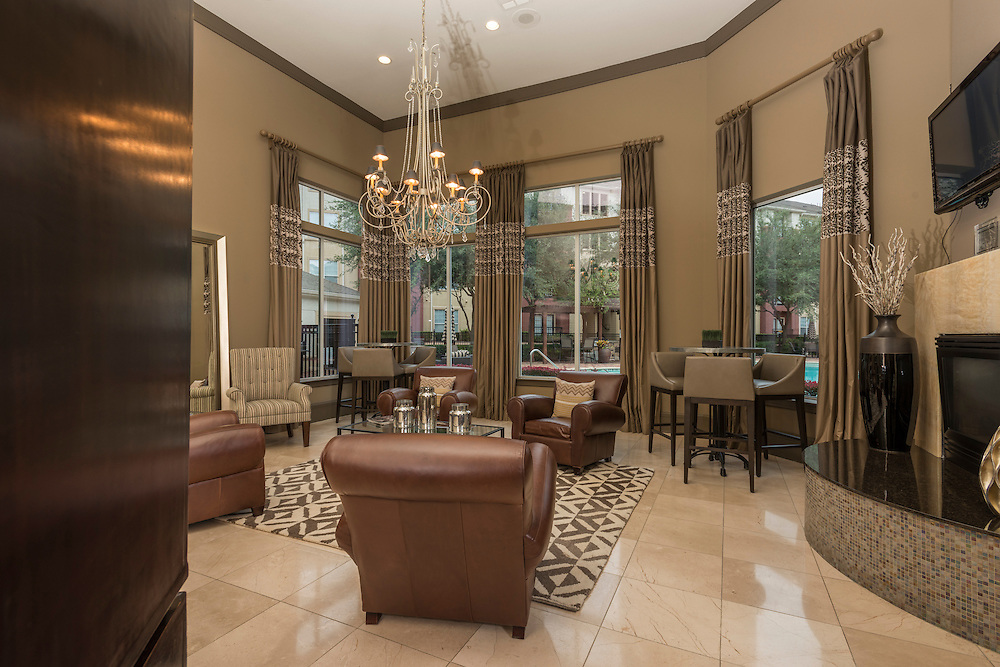 Photograph of the Marquette Piney Pointe Apartments in Houston, Texas in the Galleria Area