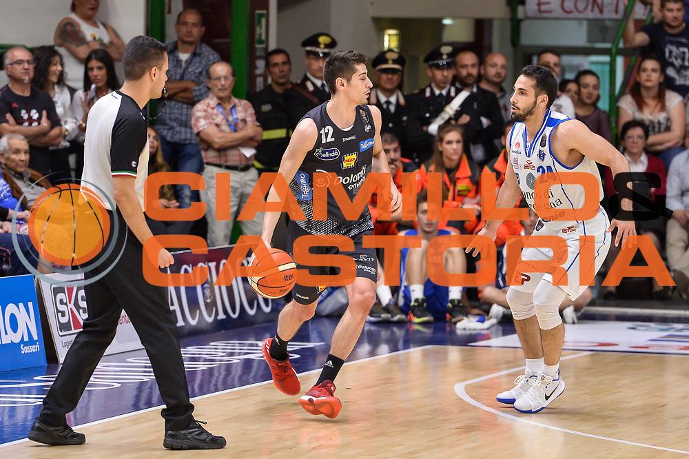 Diego Flaccadori<br /> Banco di Sardegna Dinamo Sassari - Dolomiti Energia Aquila Basket Trento<br /> Legabasket Serie A LBA Poste Mobile 2016/2017<br /> Playoff Quarti Gara3<br /> Sassari 16/05/2017<br /> Foto Ciamillo-Castoria