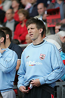 Photo: Lee Earle.<br /> Southampton v Derby County. Coca Cola Championship. Play Off Semi Final, 1st Leg. 12/05/2007.Southampton's Grzegorz Rasiak started on the bench.