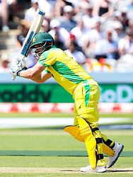 Aaron Finch of Australia - Mandatory by-line: Robbie Stephenson/JMP - 29/06/2019 - CRICKET - Lords - London, England - New Zealand v Australia - ICC Cricket World Cup 2019 - Group Stage