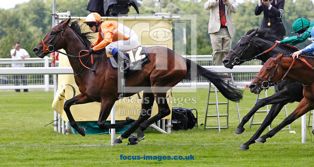 Picture by John Hoy/Focus Images Ltd. 07583422396.19/06/12.Kieren Fallon riding Most Improved wining the The St James's Palace Stakes at Ascot racecourse, Berkshire.