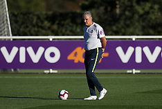 Brazil Training Session - Enfield Training Ground - 09 October 2018