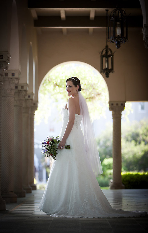 Apr 5, 2011; San Antonio, TX, USA;  Bridal photo for Marlena Cobb  at the Landa Library.  Images by soobum im, a San Antonio wedding photographer. www.soobumimphotography.com,