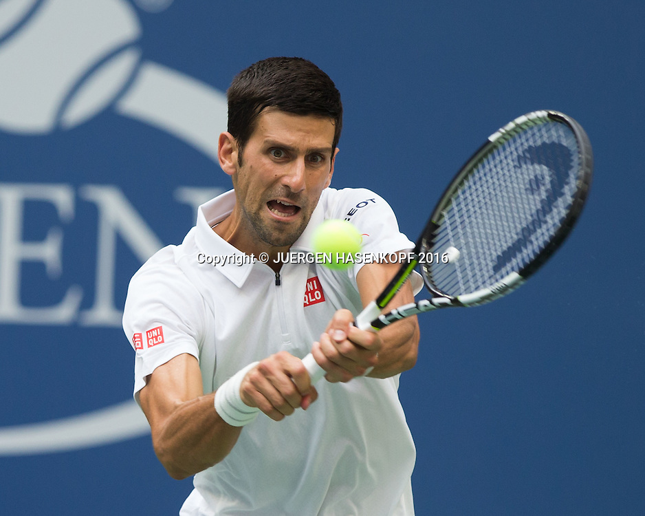 NOVAK DJOKOVIC (SRB)<br /> <br /> Tennis - US Open 2016 - Grand Slam ITF / ATP / WTA -  USTA Billie Jean King National Tennis Center - New York - New York - USA  - 2 September 2016.