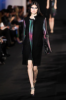 Sui He walks down runway for F2012 Prabal Gurung's collection in Mercedes Benz fashion week in New York on Feb 10, 2012 NYC