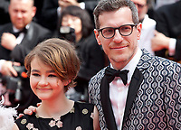 Millicent Simmonds and Brian Selznic<br /> at the Wonderstruck gala screening,  at the 70th Cannes Film Festival Wednesday May 17th 2017, Cannes, France. Photo credit: Doreen Kennedy