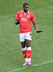 Bristol City's Jay Emmanuel-Thomas - Photo mandatory by-line: Alex James/JMP - Mobile: 07966 386802 - 25/01/2015 - SPORT - Football - Bristol - Ashton Gate - Bristol City v West Ham United - FA Cup Fourth Round