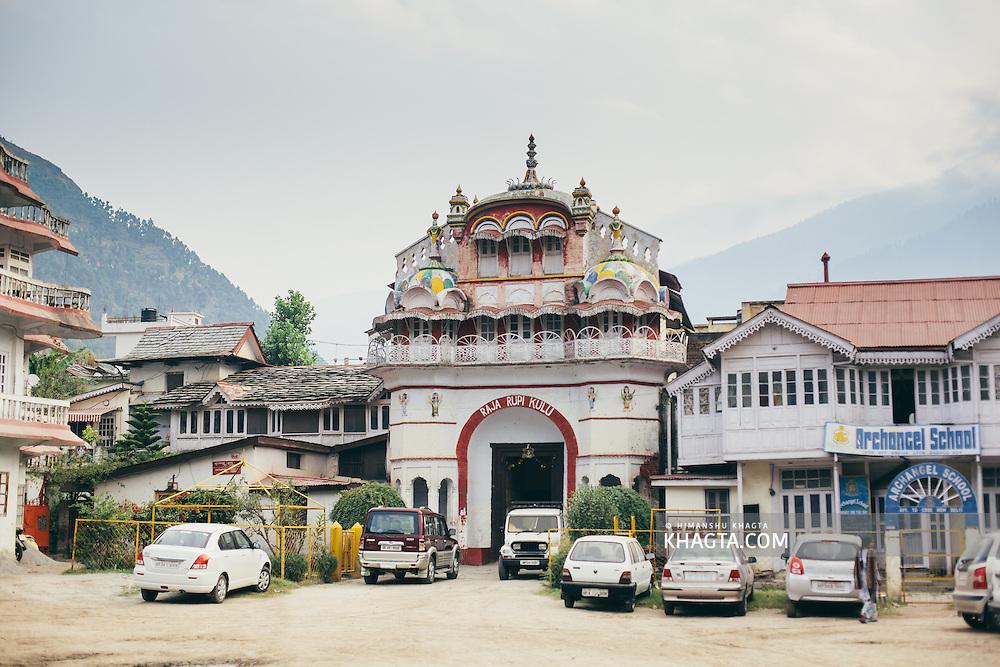 Raja Rupi Mahal was is the home to the king of Kullu Rajya.