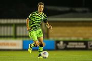 Forest Green Rovers James Morton(15) runs forward  during the EFL Trophy match between Forest Green Rovers and U21 Southampton at the New Lawn, Forest Green, United Kingdom on 3 September 2019.