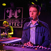 WASHINGTON, D.C. - May 8th, 2011: British musician James Blake performs at the Rock N Roll Hotel in Washington, D.C. during the opening night of his first US tour.  (Photo by Kyle Gustafson/For The Washington Post).