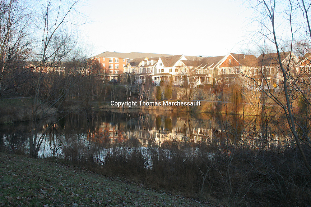 Lake Veruna, Booth Street and Senior Apartments, Kentlands, Gaithersburg, Maryland