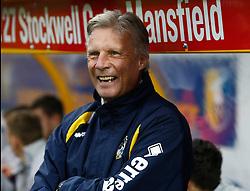 Bristol Rovers Manager, John Ward  - Photo mandatory by-line: Matt Bunn/JMP - Tel: Mobile: 07966 386802 12/10/2013 - SPORT - FOOTBALL - Field Mill - Mansfield - Mansfield Town V Bristol Rovers - Sky Bet League 2