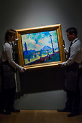 André Derain, Londres: la Tamise au pont de Westminster, Est. GBP 6,000,000 - GBP 9,000,000 - Christie's unveil an exhibition of in advance of their Impressionist and Modern sale on 27 February.