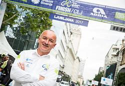 Bogdan Fink during Stage 2 of 24th Tour of Slovenia 2017 / Tour de Slovenie from Ljubljana to Ljubljana (169,9 km) cycling race on June 16, 2017 in Slovenia. Photo by Vid Ponikvar / Sportida
