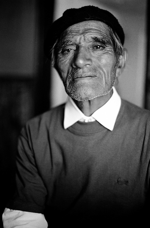 "Portrait of a ""gaucho"" I met 1992 on the Argentinian side in Patagonia."